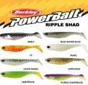 Ripper Berkley PowerBait Ripple Shad 9cm