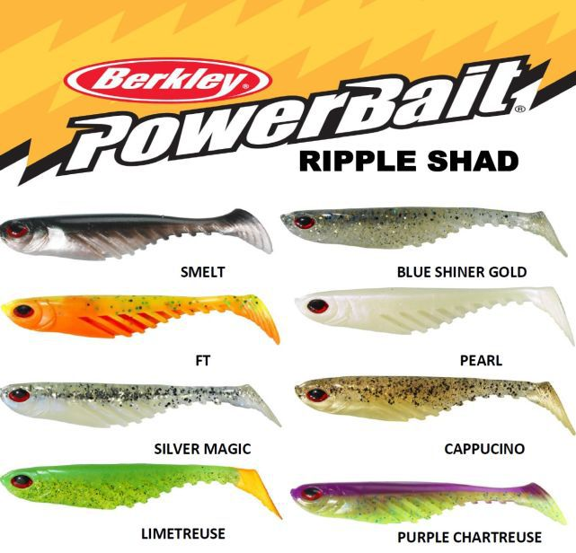 Ripper Berkley PowerBait Ripple Shad 11cm