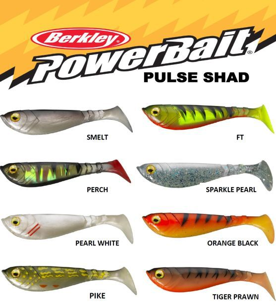 Ripper Berkley PowerBait Pulse Shad 14cm