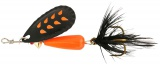 Třpytka Abu Garcia Droppen Fluo Orange Black Feather Black